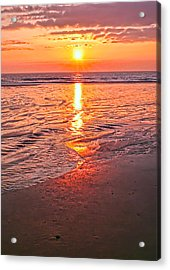 Morning Acrylic Print by Gouzel -