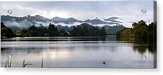 Acrylic Print featuring the photograph Morning Mist by Odille Esmonde-Morgan