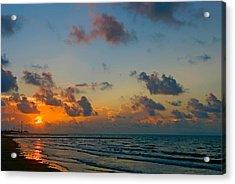 Morning On The Beach Acrylic Print