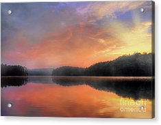 Acrylic Print featuring the photograph Morning Solitude by Darren Fisher
