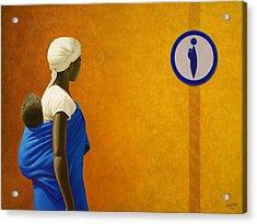 Mother Acrylic Print by Horacio Cardozo