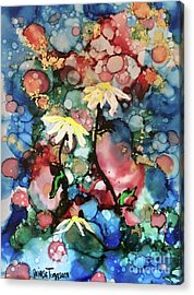 Acrylic Print featuring the painting Mothers Day by Denise Tomasura