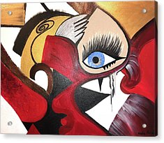 Motley Eye 2 Acrylic Print