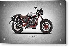 Moto Guzzi V7 Racer Acrylic Print