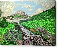 Mount Errigal Acrylic Print
