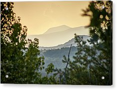 Acrylic Print featuring the photograph Mountains In The Distance by Willard Killough III