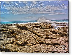 Mouth Of Margaret River Beach II Acrylic Print by Cassandra Buckley