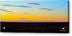 Mt. Adams Sunset Acrylic Print
