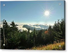Mt Mitchell Landscape Acrylic Print