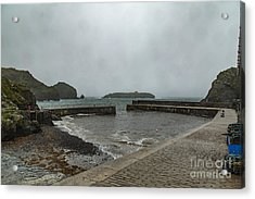 Acrylic Print featuring the photograph Mullion Cove by Brian Roscorla