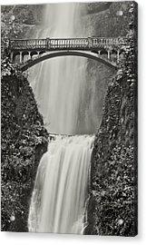 Multnomah Falls Upclose Acrylic Print
