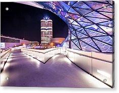 Munich - Bmw Modern And Futuristic Acrylic Print