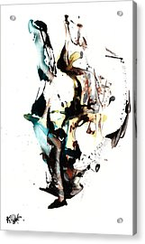 My Form Of Jazz Series 10064.102909 Acrylic Print
