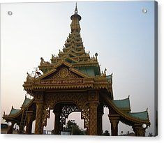 Myanmargate Acrylic Print by Aim To Be Aimless
