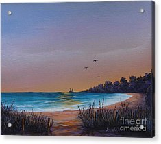 Myrtle Beach Sunset Acrylic Print