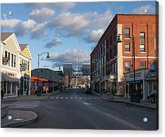 Acrylic Print featuring the photograph Mystic Connecticut by Kirkodd Photography Of New England