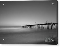 Nags Head Fishing Pier Sunrise Acrylic Print