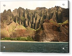 Napali Coast Acrylic Print by Andrei Fried