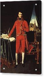 Napoleon Bonaparte Acrylic Print by War Is Hell Store
