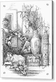 Nast: Christmas Acrylic Print by Granger