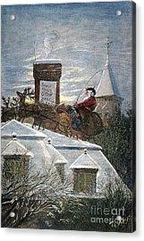 Nast: Santa Claus Acrylic Print by Granger