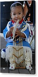 Native American Baby Girl Acrylic Print
