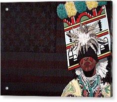 Native Dancer Acrylic Print