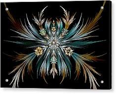 Native Feathers Acrylic Print