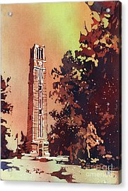 Ncsu Bell-tower Acrylic Print
