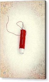 Needle And Thread Acrylic Print by Joana Kruse