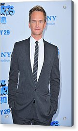 Neil Patrick Harris At Arrivals For The Acrylic Print by Everett