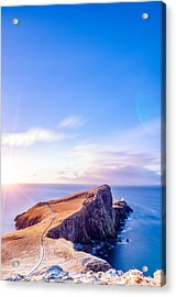 Neist Point Lighthouse At Dawn Acrylic Print