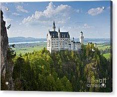 Neuschwanstein Castle Acrylic Print by Andrew  Michael