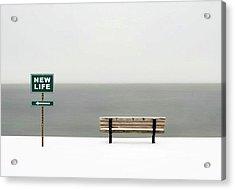 New Life Acrylic Print by Emil Bodourov