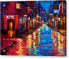 New Orleans Magic Acrylic Print