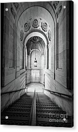 New York Public Library Acrylic Print by Inge Johnsson