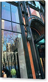 Facade Reflections Acrylic Print by Jessica Jenney