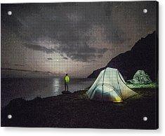 Night Gazer Acrylic Print