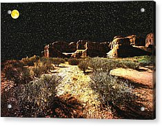 Night In The Arches Acrylic Print
