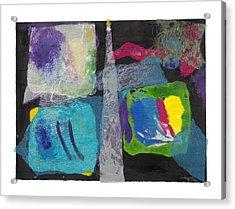 Night Light Acrylic Print by Nancy Brockett