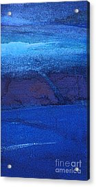 Acrylic Print featuring the painting Night Surf by Diane Ursin