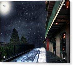Nightwalk Acrylic Print by RC deWinter