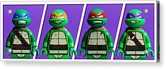 Ninja Turtles Acrylic Print