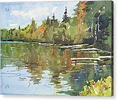 North Country Reflections Acrylic Print by Spencer Meagher
