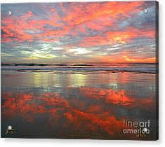 North County Reflections Acrylic Print