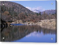 North Fork Kern River Acrylic Print by Soli Deo Gloria Wilderness And Wildlife Photography
