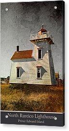 North Rustico Lighthouse Acrylic Print