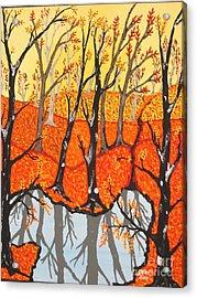 November Morning  Acrylic Print