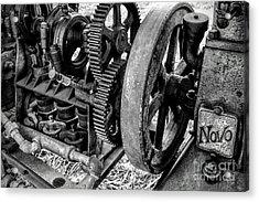 Novo Antique Gas Engine Acrylic Print