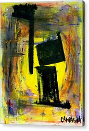 Nowhere To Hide Acrylic Print by Teddy Campagna